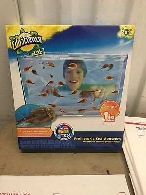 Wacky Lab Prehistoric Sea Monsters Science Lab, NEW SEALED BOX