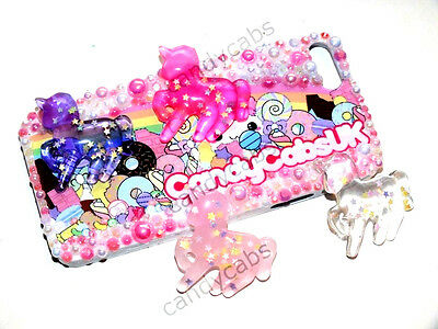 CandyCabsUK Cute Glitter Sparkle Unicorn Flatback Cabochons DIY KIT Decoden NEW!