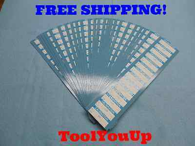 350 Pcs Of Calibration Stickers For Machine Shop Quality Control Inspection