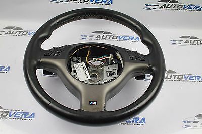 Bmw E46 M3 Smg M Sport Multifunctional Steering Wheel With Shift Paddles