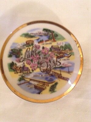 Vintage Lake of the Ozarks Mini Souvenir Collector Plate