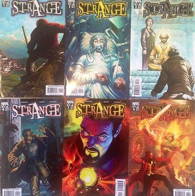 Strange #1-6 Straczynski + Strange The Doctor is Out #1-4 Comic Book Set x2 Dr