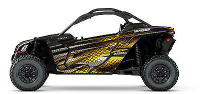 CAN AM MAVERICK X3 Hades Decal Graphic Kit Wraps