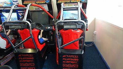 Taito Battle Gear 4 Tuned Twin Arcade Machine Working