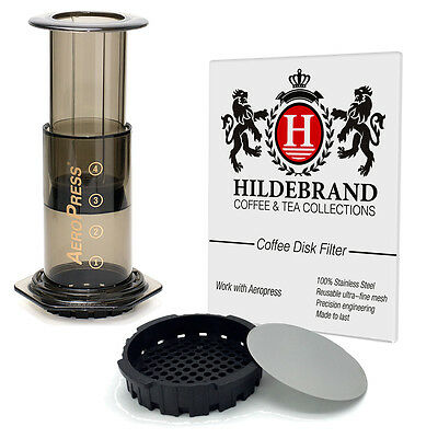 Reusable Premium Stainless Steel Filter For AeroPress Coffee Maker