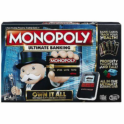 Monopoly Ultimate Banking electronic Board Game NEW NIB