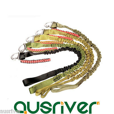 Elastic Safety Landyard Sling Military Army Survival Rope Cord Climbing Outdoor