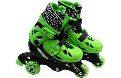 Elektra Tri to In Line Boot Skates - Green. From the Official Argos Shop on ebay