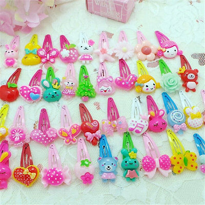 Wholesale 20 pcs Mix Styles Assorted Baby Kids Girls Hair Pin Hair Clips Jewelry