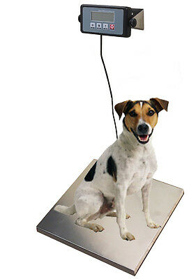 400lb Digital Portable Pet Dog Puppy Cat Scale Small Animal Weigh Vet Veterinary