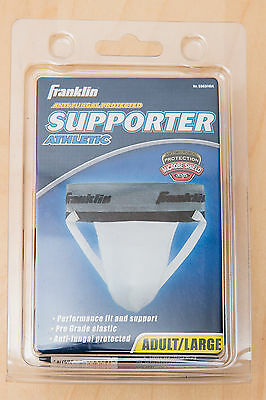 """Franklin Sports Athletic Supporter Adult/Large 36""""-38"""" Anti-Fungal Antifungal ;)"""