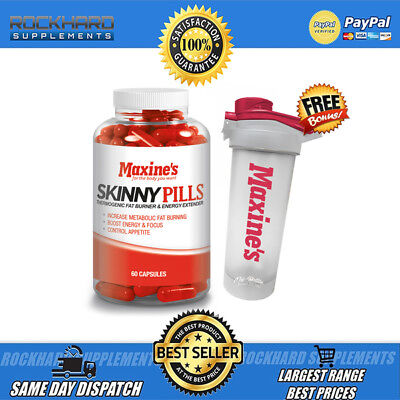 Maxine's Skinny Pills 60 Tabs / Maxines Thermogenic Focus Energy