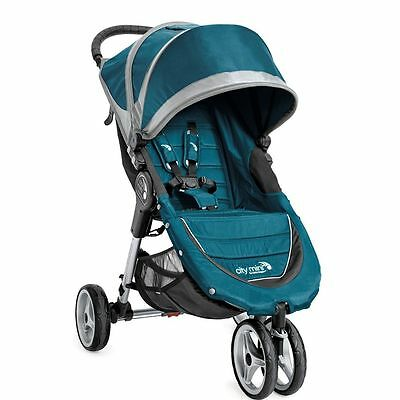 Baby Jogger City Mini 3W Single, Teal / Gray - 1959130