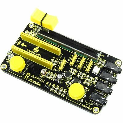 Keyestudio NANO Multi-Purpose Shield KS-165 V1.a Scratch LDR LED Flux Workshop