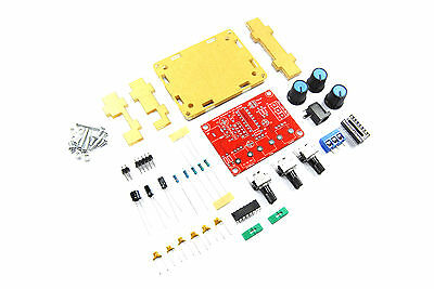 Function Signal Generator unsoldered DIY Kit Sine Square 100kHz Flux Workshop