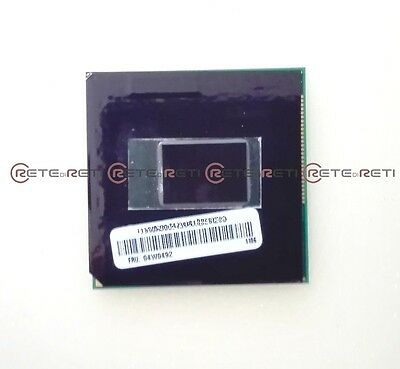 INTEL CPU Core i5-2520M 2.5GHz up to 3.2GHz 5GT/s Socket PPGA988 1 Year WARRANTY