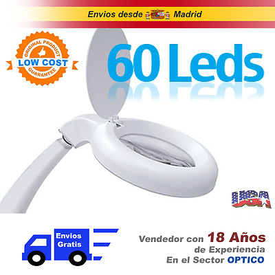 Lupa Sobremesa 60 Led - Low Cost
