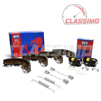 Rear Brake Shoes, Fitting Kit & Cylinders for AUSTIN / ROVER MINI - 1959-01 - QH
