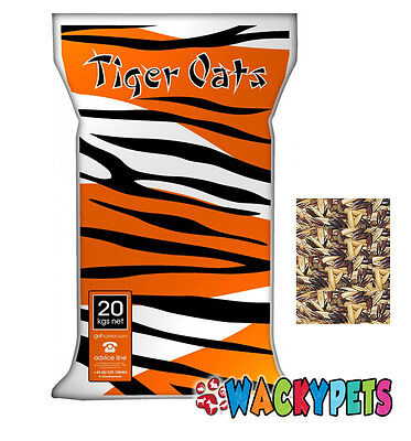 GWF Tiger Oats 20kg for Horses / Ponies. Low Starch Feed (GWF009)