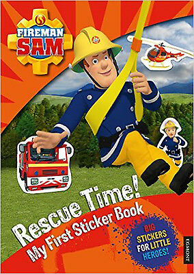 Fireman Sam: Rescue Time! My First Sticker Book, New,  Book