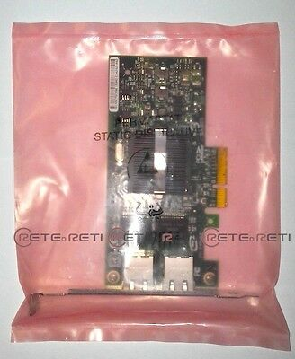 € 29,90+IVA IBM 46K6601 2-port 10/100/1000 Base-TX Ethernet PCI Express Adapter
