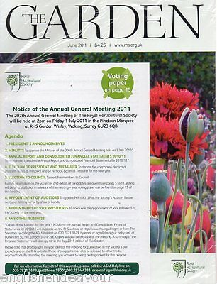 The Garden - RHS Royal Horticultural Society Magazine - New & Sealed - June 2011