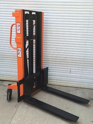 HAND STACKER Manual Hydraulic Stacker 1.5T 2000mm pallet truck Inc.VAT