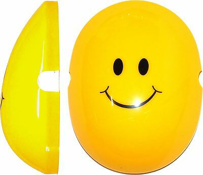 Smiley Face Capz By Edz Kidz * Kids Ear Defenders NOT INCLUDED