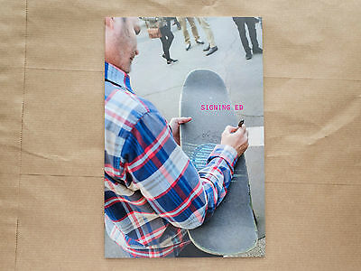SIGNING ED / A Fanzine About Ed Templeton ::: NEW EDITION