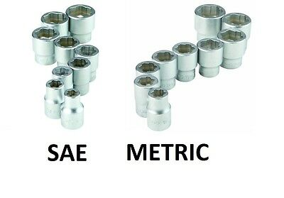 Stripped Nut Bolt Remover Socket Rounded Head Easy Out Extractor Metric & Sae