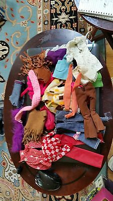 Lot of 1970's Vintage Barbie Doll Clothing