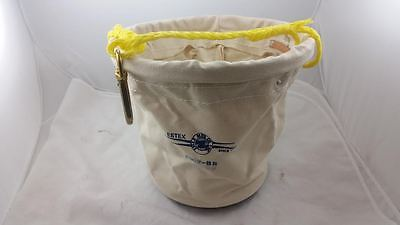 ***SALE*** New Estex 2062-BS Plastic-Bottom Canvas Tool Bucket Fast Shipping!!!