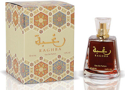 Raghba (100ml) Eau De Parfum by Lattafa Traditional