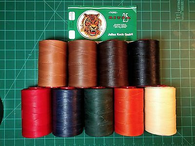 Tiger Thread - For Hand Sewing Leather - Julius Koch - 1.0mm- Ritza 25