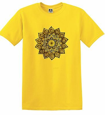 Flower Henna T-shirt Indie Hipster Tattoo Geometric Dreamcatcher Tee