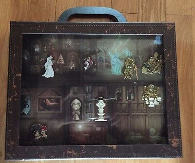 Disney Haunted Mansion Room For One More Suitcase 6 Pin Set LE 250 Rare