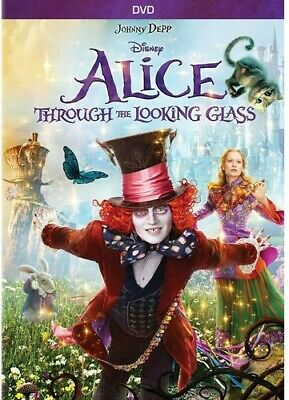 Alice Through The Looking Glass (2016, DVD NEW)