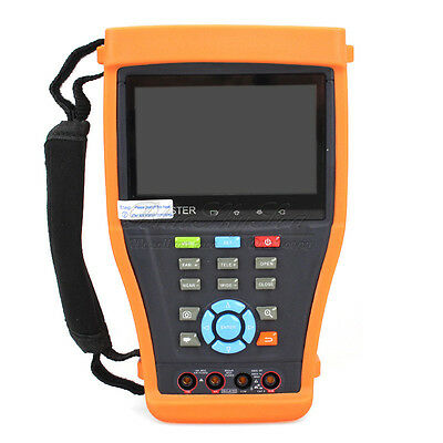 "4.3"" Screen CCTV Camera Tester  IPC-4300MOS Multimeter+Power Meter+HD-SDI In/Out"