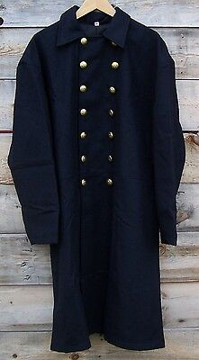 Civil war union federal general double breasted frock coat pleated   46
