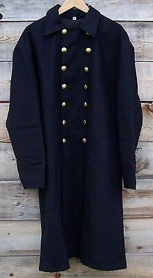 Civil war union federal general double breasted frock coat pleated   50