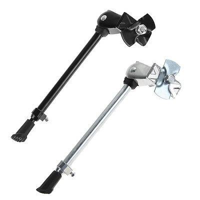 R6H1 Heavy Duty Bike Bicycle Cycling Kick Stand Adjustable Rubber Foot Frame Acc