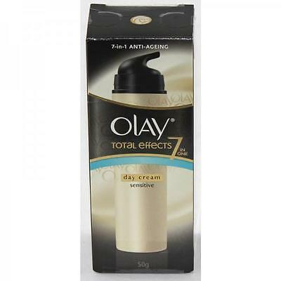 Brand New OLAY Total effects 7 in 1 Day Cream Sensitive Anti Ageing moisturiser