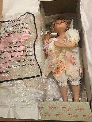 Collectible Porcelain Doll By Show Stoppers 19""