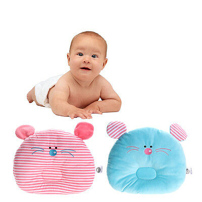 Newborn Baby Infant Prevent Flat Head Pillow Cushion Soft Sleeping Positioner