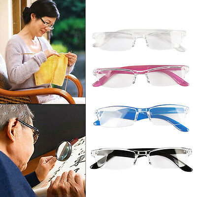 Ladies Mens Frame Magnifying Reading Glasses Eyeglass Nerd Spectacle +1.0+4.0