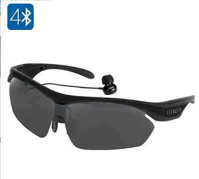 K2 Bluetooth Sunglasses - BT 4.0, A2DP, Hand Free, Smart Touch, Voice Control