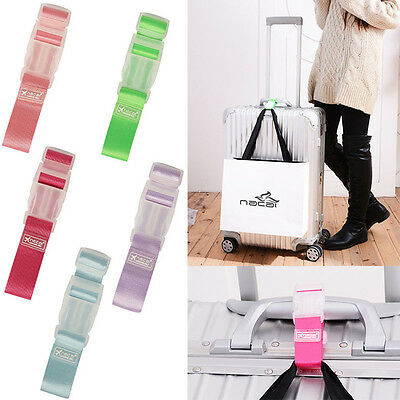 Garment Travel Bag Luggage Belt Replacement Buckle Portable Strap Suitcase Label