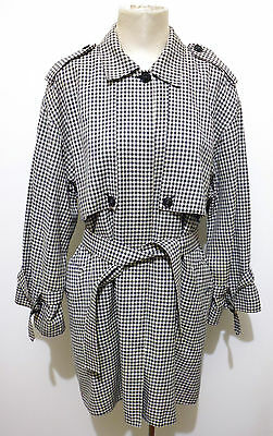 ARMANI VINTAGE '80 Cappotto Trench Donna Lana Wool Woman Coat Sz.XL - 48