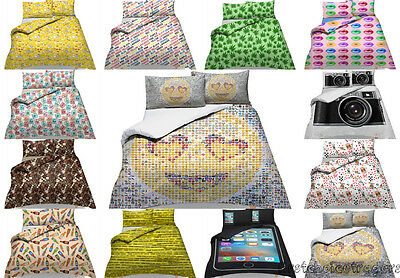 Duvet Cover set Quirky Design Bedding Set Quilt Cover Single Double King