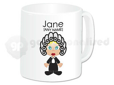 Personalised Gift Judge Mug Cup Barrister Lawyer Law Student Graduation Girl #2